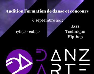 Audition Danse