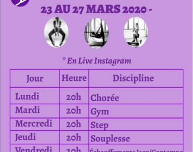 23 au 27 Mars